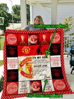 Manchester United F.C – Personalized Name Quilt Blanket