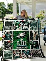 Philadelphia Eagles Champions Quilt Blanket Great Customized Blanket Gifts For Birthday Christmas Thanksgiving