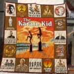 The Karate Kid No Mercy Quilt Blanket Great Customized Blanket Gifts For Birthday Christmas Thanksgiving