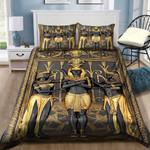 Ancient Egypt Pharaoh Bedding Set (Duvet Cover & Pillow Cases)