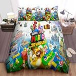 3d Super Mario 3d World Duvet Cover Bedding Set