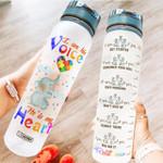 Autism Awareness HRA0604001 Water Tracker Bottle