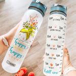 Happy Mind DKY1006007 Water Tracker Bottle
