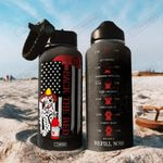 Firefighter DKK2207014 Stainless Steel Bottle with Straw Lid