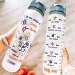 Baby Turtles Motivation HAH0807002 Water Tracker Bottle