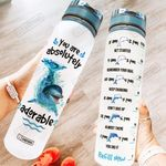 Dolphin THK1007002 Water Tracker Bottle