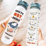 Cat MAL1007003 Water Tracker Bottle