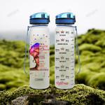 Black Women HAD1504004 Water Tracker Bottle