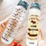 Dachshund PYL2905002 Water Tracker Bottle