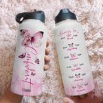 Butterfly Confident DKZ2508046 Stainless Steel Bottle With Straw Lid