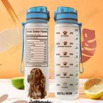 Irish Setter Facts MDA1908017 Water Tracker Bottle