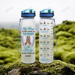 Autism Awareness HAD2104001 Water Tracker Bottle