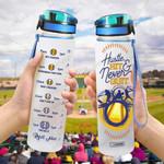 Softball HHW0707014 Water Tracker Bottle
