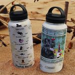 Labrador Retriever Wine MAL2907016 Stainless Steel Bottle with Straw Lid