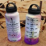 Faith HNA2907012 Stainless Steel Bottle with Straw Lid