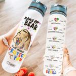 Autism Awareness HRA2504001 Water Tracker Bottle