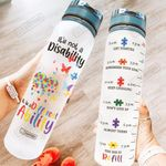 Autism Awareness HRA2504002 Water Tracker Bottle