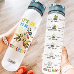 Autism Awareness HRA2704001 Water Tracker Bottle