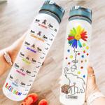 Autism Awareness HAD1504002 Water Tracker Bottle