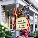 Cool German Shepherd NTV2309007 Flag