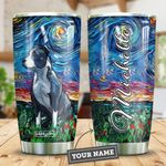 Pit Bull Starry Night Personalized HTR2309012 Stainless Steel Tumbler