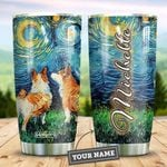 Corgi Starry Night Personalized HTR2309009 Stainless Steel Tumbler