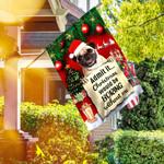 Christmas Pug HLV2409001 Flag