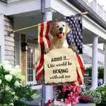 Cool Labrador Dog NTV2409011 Flag
