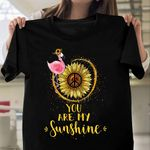 Flamingo Hippie Sunflower HAR2509006 Classic T Shirt