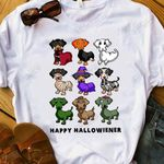 Halloween Dachshund DNR2809014 Classic T Shirt