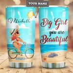 Big Girl Personalized HHE2809014 Stainless Steel Tumbler