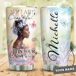 Black Women Personalized HHE1709001 Stainless Steel Tumbler