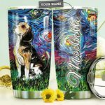 Beagle Starry Night HTR2909020 Stainless Steel Tumbler
