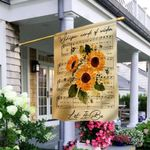 Hippie Sunflower THV2909002 Flag