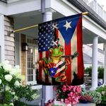 Puerto Rico Frog DNV3009012 Flag