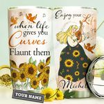 Big Girl Personalized HHE3009015 Stainless Steel Tumbler