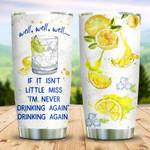 Lemon Drinking KD2 MAL3009012 Stainless Steel Tumbler