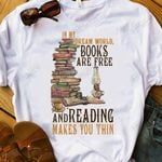 Book Reading Passion HNR0210011 Classic T Shirt