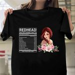 Redhead Facts HTR0210002 Classic T Shirt