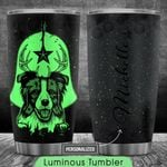 Border Collie Christmas Personalized HTQ0210001 Luminous Stainless Steel Tumbler