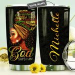 Black Women Strong HTQ0310032 Stainless Steel Tumbler