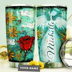 Rose Angel Faith HTQ0310035 Stainless Steel Tumbler