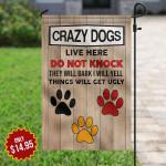 Crazy Dogs KD2 HAL0310007 Flag