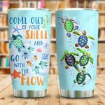 Turtle Come Out Of Your Shell KD2 KHL0310025 Stainless Steel Tumbler