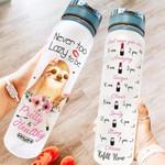 Lazy sloth KD2 HNM0310028 Water Tracker Bottle