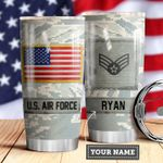 Air Force Personalized MDA0510008 Stainless Steel Tumbler