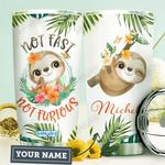 Sloth Personalized HTR0610022 Stainless Steel Tumbler