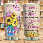 BRC Sunflower Faith KD2 KHL0610007 Stainless Steel Tumbler