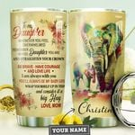 Mom Daughter Personalized MDA0710040 Stainless Steel Tumbler