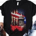Puerto Rico Symbols THV0810013 Classic T Shirt